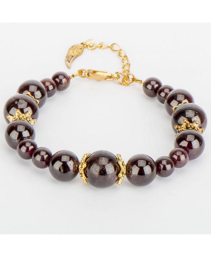 Гранатовый браслет «Сантана»