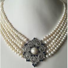 "Ожерелье из натурального жемчуга ""Лондон 1"""
