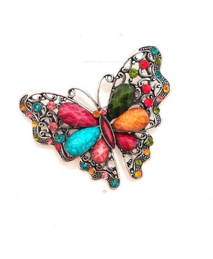 Брошь бабочка , 7х6см