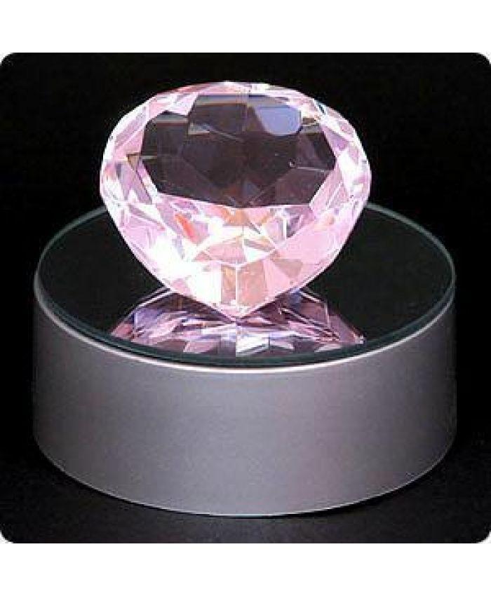 "Фигура ""Сердце"", розовый, 50 мм"