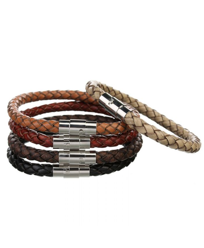 Мужские браслеты из кожи