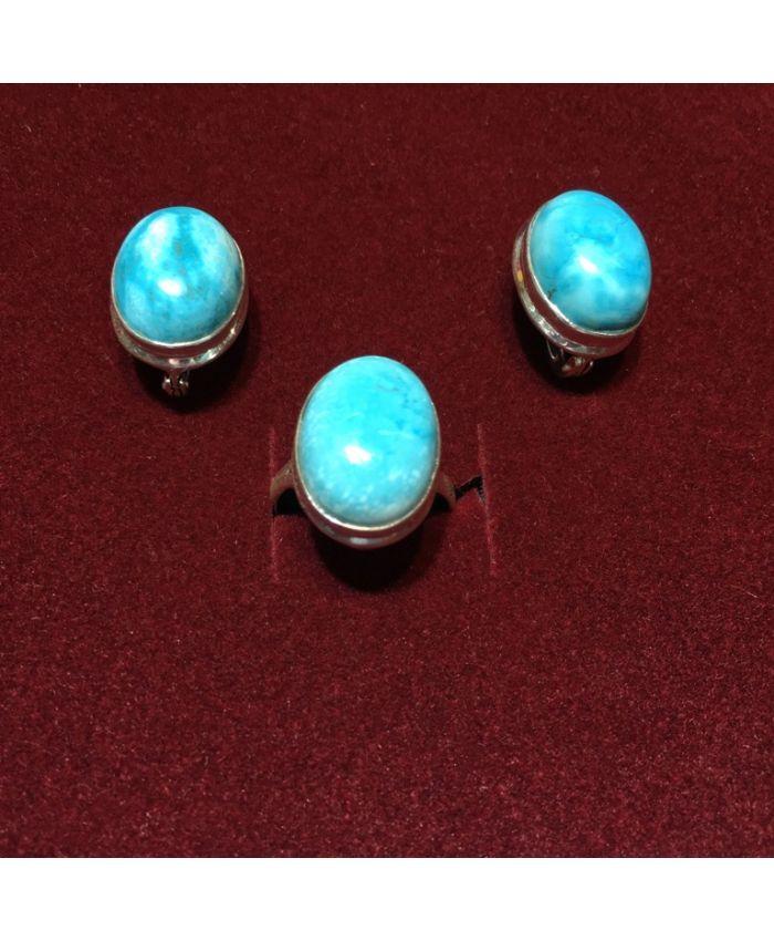 Ювелирные украшения из бирюзы в серебре