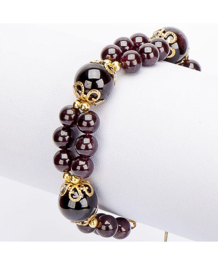 Гранатовый браслет «Елизавета»