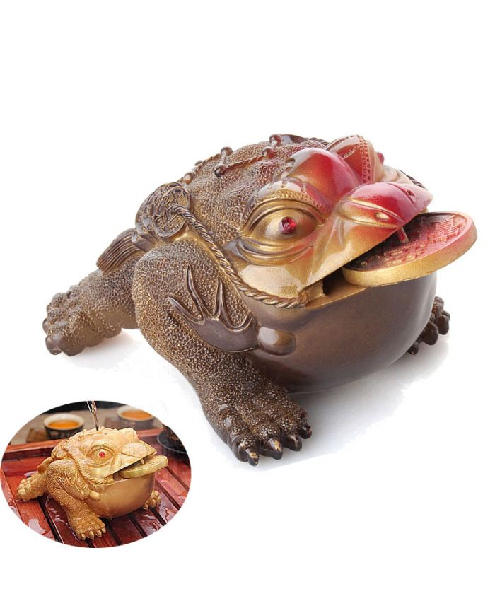 Денежная жаба фэн-шуй